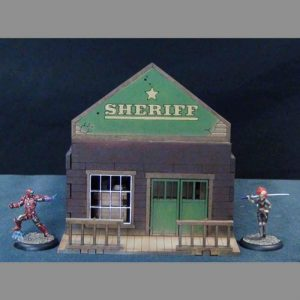 TTCombat   Wild West Scenics (28-32mm) Sheriff's Office - WWS005 -