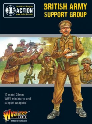 Warlord Games Bolt Action  Great Britain (BA) British Army support group - 402211011 - 5060572503052