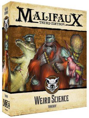 Wyrd Malifaux  Bayou Bayou Weird Science - WYR23611 - 812152032644