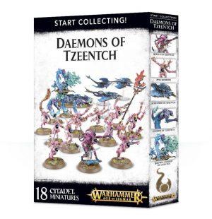 Games Workshop Warhammer 40,000 | Age of Sigmar  Disciples of Tzeentch Start Collecting! Daemons of Tzeentch - 99129915043 - 5011921088584