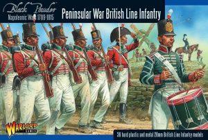 Warlord Games Black Powder  British (Napoleonic) British Line Infantry (Peninsular) - 302011003 - 5060393706540