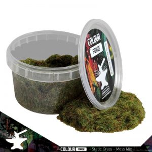 The Colour Forge   Sand & Flock Static Grass - Moss Mix (275ml) - TCF-BAS-018 - 5060843101017