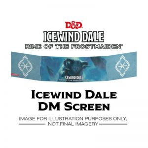 Gale Force Nine Dungeons & Dragons  D&D Extras D&D: Icewind Dale: Rime of the Frostmaiden - DM Screen - GFN73714 - 9420020252134
