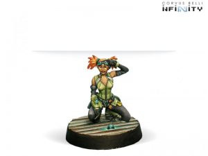 Corvus Belli Infinity  Non-Aligned Armies - NA2 Valerya Gromoz (Hacker) - 280706-0209 - 2807060002092