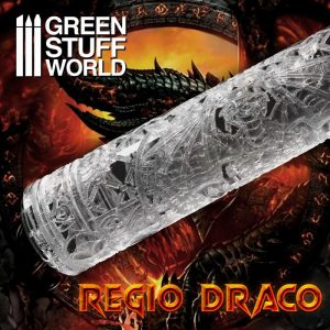 Green Stuff World   Rolling Pins Rolling Pin Regio Draco - 8435646503462ES -
