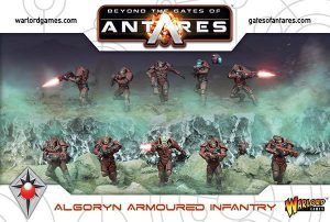 Warlord Games Beyond the Gates of Antares  SALE! Algoryn Armoured Infantry - 502011001 - 5060393705536