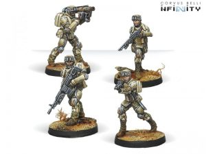 Corvus Belli Infinity  Ariadna 5th Minutemen Regiment - 280186-0635 - 2801860006359