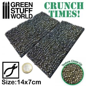 Green Stuff World   Modelling Extras Stacked Skull Plates - Crunch Times! - 8436574500264ES - 8436574500264