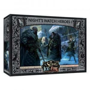 Cool Mini or Not A Song of Ice and Fire  Night's Watch A Song of Ice and Fire: Night's Watch Heroes #1 - CMNSIF309 - 889696009081