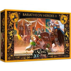Cool Mini or Not A Song of Ice and Fire  House Baratheon A Song of Ice and Fire: Baratheon Heroes #2 - CMNSIF810 - 889696010193