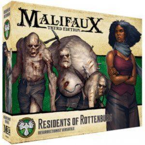 Wyrd Malifaux  Resurrectionists Residents of Rottenburg - WYR23226 - 812152031807