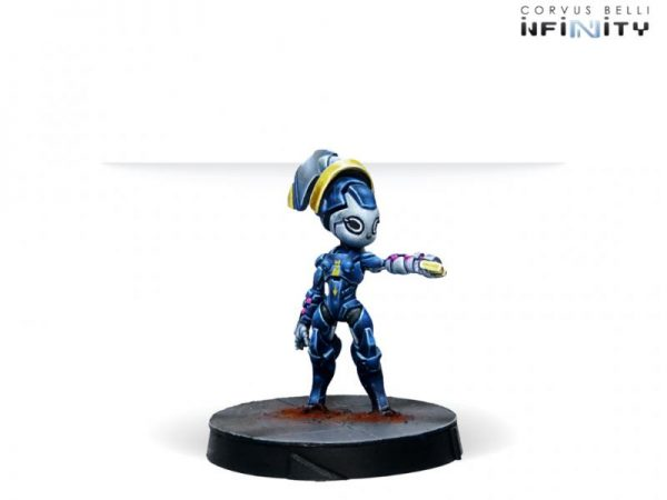 Corvus Belli Infinity  O-12 O-12 Support Pack Specialized Support Unit Lambda - 282006-0832 - 2820060008321