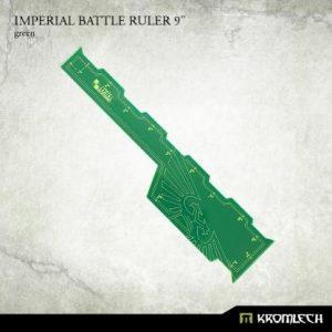 Kromlech   Tapes & Measuring Sticks Imperial Battle Ruler 9in [green] (1) - KRGA052 - 5902216116535