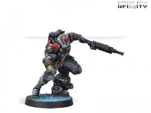 Corvus Belli Infinity  Combined Army Raktorak, Morat Sergeant Major - 280663-0484 - 2806630004849