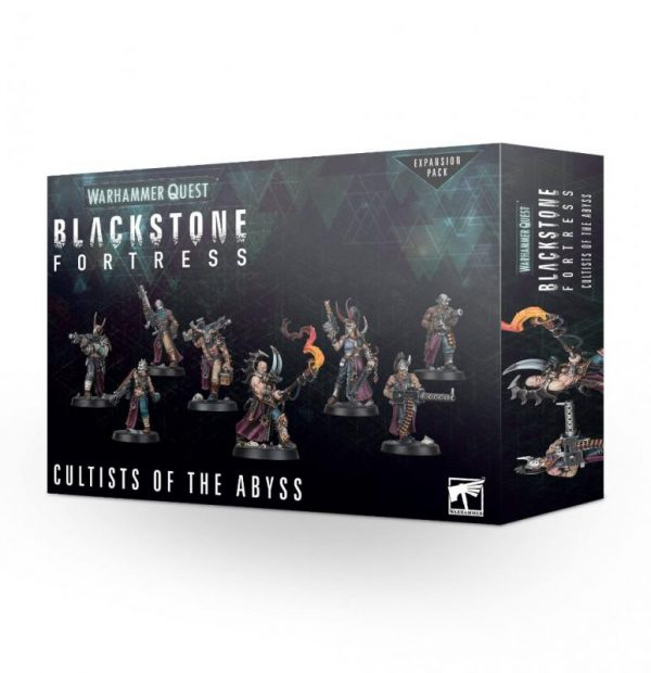 Games Workshop (Direct) Warhammer Quest  Warhammer Quest Blackstone Fortress: Cultists of the Abyss - 99120699001 - 5011921127177