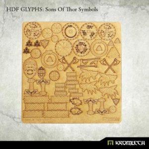 Kromlech   Modelling Extras HDF Glyphs: Sons of Thor Symbols - KRMA053 - 5902216115392