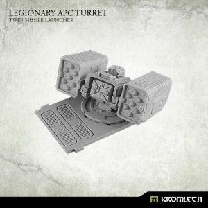 Kromlech   Legionary Conversion Parts Legionary APC turret: Twin Missile Launcher (1) - KRVB027 - 5902216114395