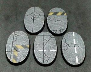 Baker Bases   Concrete Concrete: 60x35mm oval / Bike Base (5) - CB-CN-01-60(oval) - CB-CN-01-60(oval)