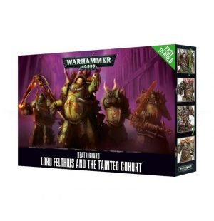 Games Workshop (Direct) Warhammer 40,000  Death Guard Death Guard Lord Felthius and the Tainted Cohort - 99120102081 - 5011921171750