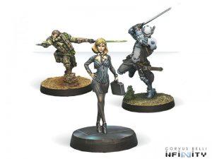 Corvus Belli Infinity  Infinity Essentials Dire Foes Mission Pack 4: Flee or Die - 280004-0446 - 2800040004468