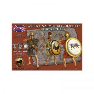 Victrix   Victrix Greek Unarmoured Hoplites and Archers - VXA005 -