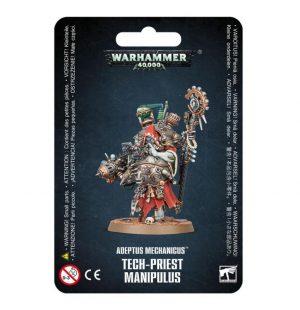 Games Workshop Warhammer 40,000  Adeptus Mechanicus Adeptus Mechanicus Tech-Priest Manipulus - 99070116006 - 5011921155422