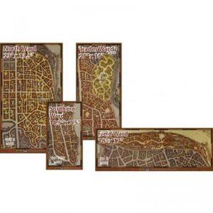 Gale Force Nine Dungeons & Dragons  D&D Game Mats D&D: Waterdeep Dragon Heist Map Set - GFN72788 - 9420020242555