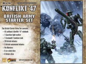 Warlord Games Konflikt '47  SALE! British K47 Starter Set - 451510601 - 5060393704737
