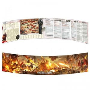 Gale Force Nine Dungeons & Dragons  D&D Extras D&D: Descent into Avernus Dungeon Master Screen - GFN73712 - 9420020248830