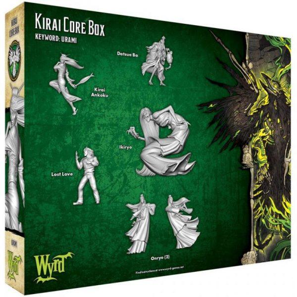 Wyrd Malifaux  Resurrectionists Kirai Core Box - WYR23204 - 812152032453