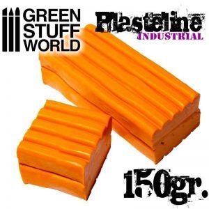 Green Stuff World   Mold Making Plasteline Orange 150gr. - 8436554364862 - 8412027007115