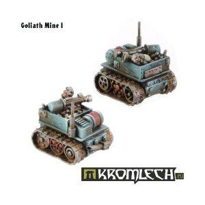 Kromlech   Orc Model Kits Orc Operator & Goliath Mine - KRM009 - 5902216111349