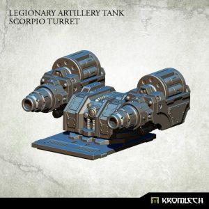 Kromlech   Legionary Conversion Parts Legionary Artillery Tank: Scorpio Turret - KRVB035 - 5902216115910