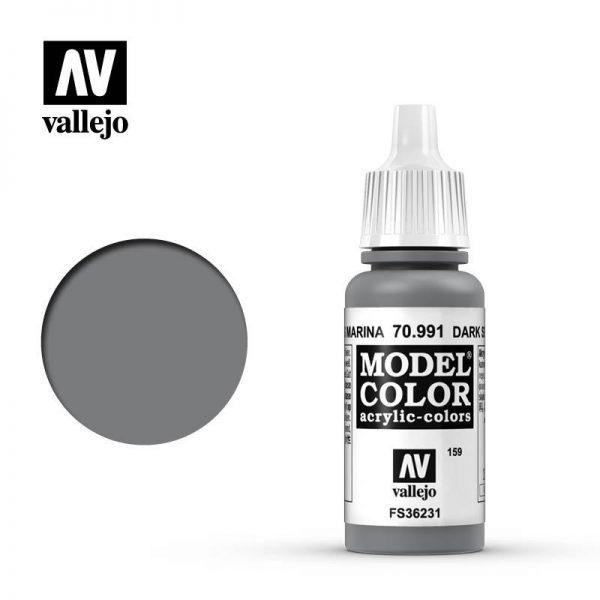 Vallejo   Model Colour Model Color: Dark Sea Grey - VAL991 - 8429551709910