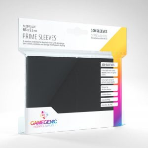 Gamegenic   SALE! Gamegenic Prime Sleeves Black (100 pack) - GGS11018ML - 4251715402191