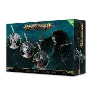 Games Workshop Age of Sigmar  Nighthaunts Nighthaunt Paint Set - 99170207001 - 5011921102631