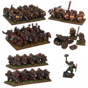 Mantic Kings of War  Dwarf Armies Dwarf Army (2017) - MGKWD110 - 5060469661421