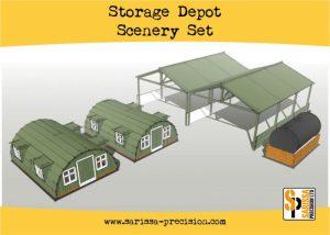 Warlord Games   Sarissa Precision Storage Shelter Scenery Set - N152 - 5060572504325