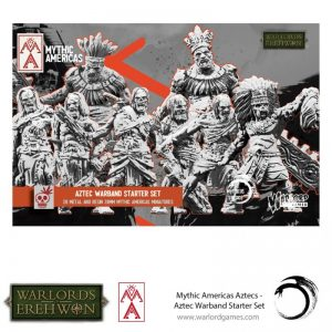 Warlord Games Warlord of Erehwon | Mythic Americas  Warlords of Erehwon Aztec Warband Starter Set - 722211001 - 5060572508613
