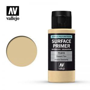 Vallejo   Model Air Primers AV Polyurethane - Primer Desert Tan Base 60ml - VAL73613 - 8429551736138
