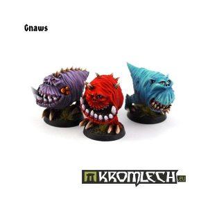Kromlech   Orc Model Kits Gnaws (3) - KRM025 - 5902216111509
