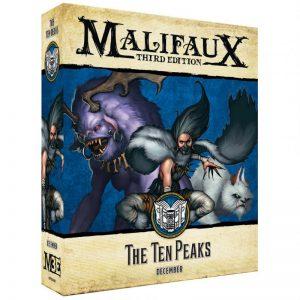 Wyrd Malifaux  Arcanists The Ten Peaks - WYR23310 - 812152031586