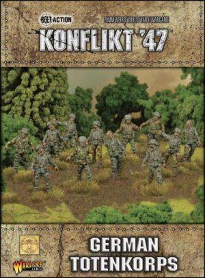 Warlord Games Konflikt '47  SALE! German Totenkorps - 452210202 - 5060393704379