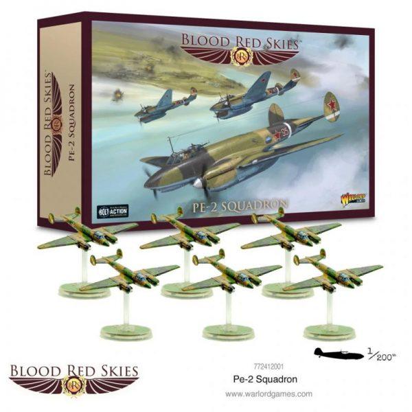 Warlord Games Blood Red Skies  Blood Red Skies Blood Red Skies: Soviet Pe-2 Squadron - 772412001 - 5060572505629