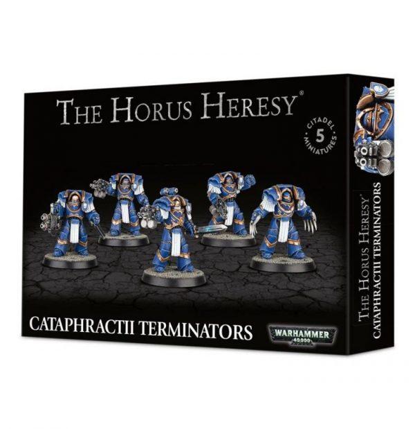 Games Workshop (Direct) Warhammer 40,000 | The Horus Heresy  The Horus Heresy Cataphractii Terminators - 99120101141 - 5011921069309