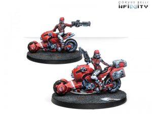 Corvus Belli Infinity  Non-Aligned Armies - NA2 Aragoto Senkenbutai - 280733-0737 - 2807330007376