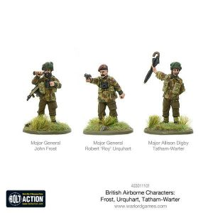 Warlord Games Bolt Action  Great Britain (BA) British Airborne Characters - 403011101 - 5060393709435