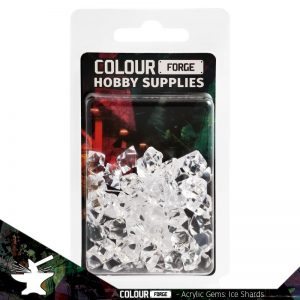 The Colour Forge   Acrylic Gems Acrylic Gems: Ice Shards - TCF-AG-0256 - 5060843100256
