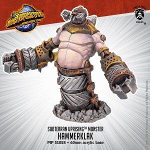 Privateer Press Monsterpocalypse  SALE! Monsterpocalypse Subterran Uprising Hammerklak - PIP51058 - 875582024443
