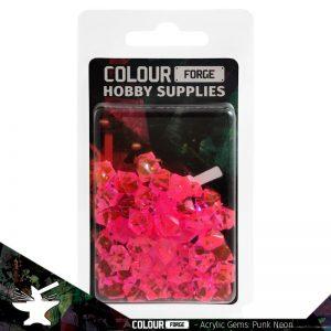 The Colour Forge   Acrylic Gems Acrylic Gems: Cyber-punk Neon - TCF-AG-0317 - 5060843100317